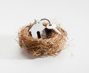 comfortable nest for new home ownership